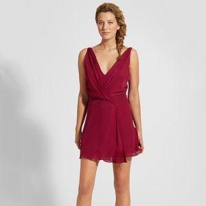 Haute Hippie Cassidy Mini Dress - Raspberry